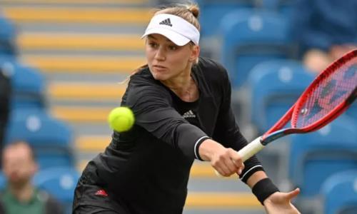 Казахстанская теннисистка вышла во второй круг турнира в США
