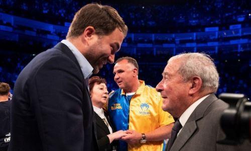 Со-промоутера Головкина попросили отказаться от боя-реванша Усик — Джошуа
