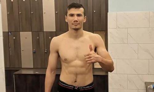 Казахстанский боксер рассказал об успешной весогонке перед дебютом в США