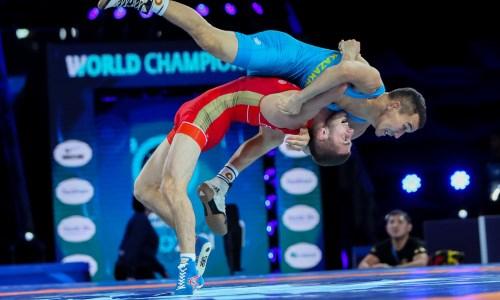 Два казахстанца лишились шансов на медали чемпионата мира по греко-римской борьбе