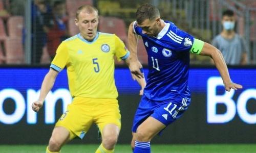 Эдин Джеко оценил силу сборной Казахстана