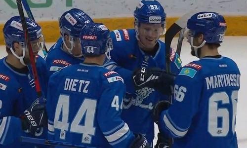 «Нам удается игра». Форвард «Барыса» объяснил, как дожать СКА в домашнем матче КХЛ