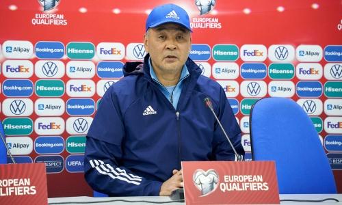 Талгат Байсуфинов обозначил большую цель и разобрал состав сборной Казахстана перед матчами отбора ЧМ-2022