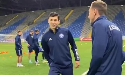 Сборная Казахстана провела предыгровую тренировку перед матчем с Боснией и Герцеговиной. Видео