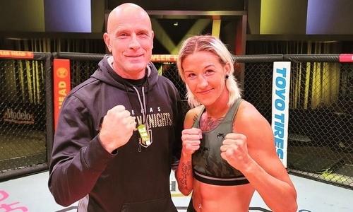 Мария Агапова сделала вес перед своим боем в UFC с «Колумбийской королевой». Фото