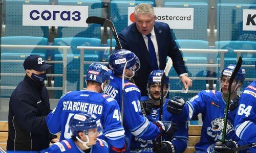 «Здорово, что мы забили». Юрий Михайлис назвал секрет победы над СКА и оценил игру хоккеистов «Барыса»