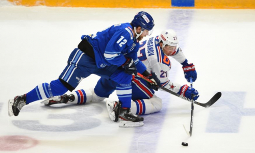 Определены лучшие по игровым показателям хоккеисты «Барыса» в матче с крупной победой над СКА