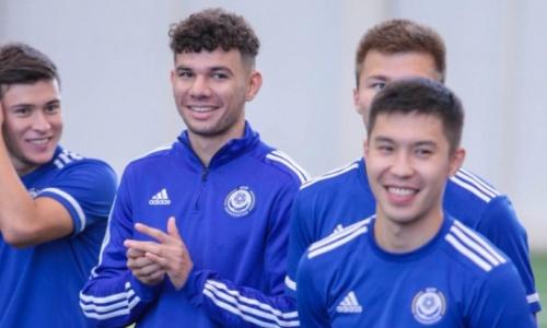 Стал известен стартовый состав молодежной сборной Казахстана на матч против Бельгии