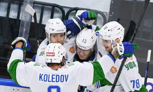 Клуб конференции «Барыса» в овертайме обыграл лидера Запада КХЛ