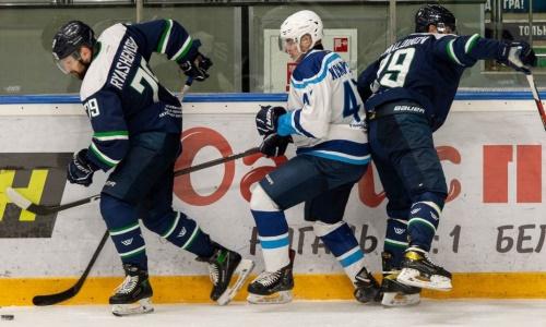Казахстанский форвард оформил дубль и помог чемпиону ВХЛ одержать уверенную победу. Видео