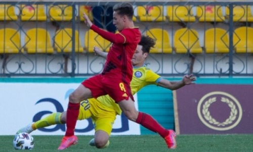 Закончился первый тайм матча Бельгия — Казахстан в отборе на ЕВРО-2023