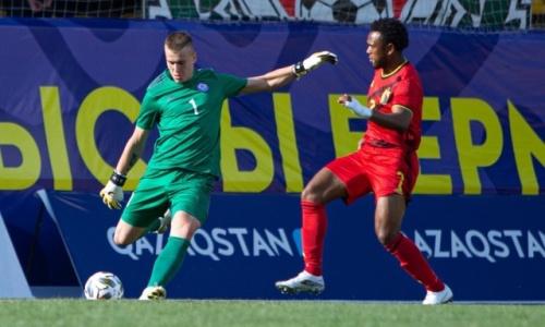 Молодежная сборная Казахстана проиграла третий матч подряд в отборе на ЕВРО-2023. Видео