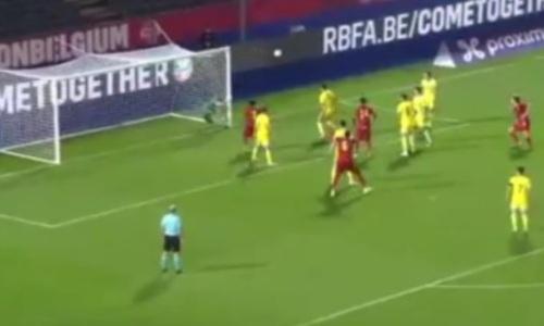 Видеообзор матча, или Как Казахстан рубился с Бельгией в отборе на молодежный ЕВРО-2023