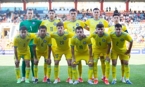 Каково положение молодежной сборной Казахстана в отборе на ЕВРО-2023 после поражения от Бельгии