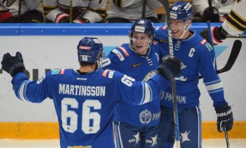 Прямая трансляция матча КХЛ «Барыс» — «Ак Барс»