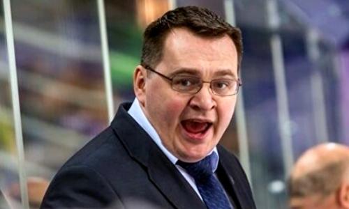 В КХЛ отметили первую после возвращения победу экс-тренера «Барыса» и сборной Казахстана