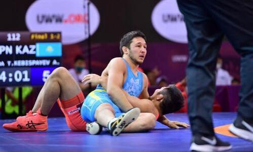 Казахстанец вышел в полуфинал чемпионата мира по греко-римской борьбе