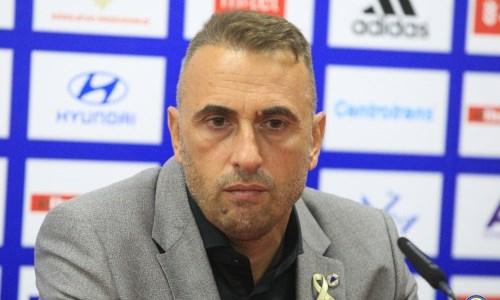 «Мы играли на полную катушку». Наставник сборной Боснии и Герцеговины дал оценку победе над Казахстаном