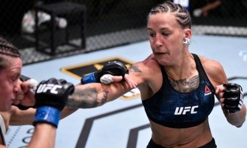 «Хочу работать хладнокровно как она». Мария Агапова назвала своего «кумира» в UFC