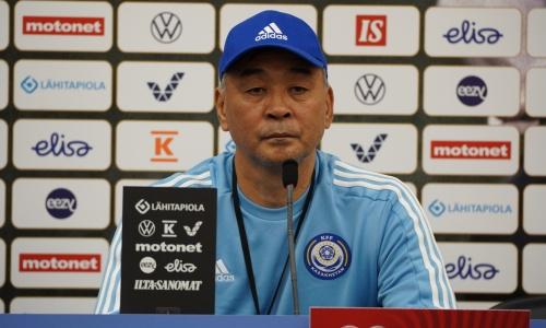 «Этот менталитет у нас в голове». Талгат Байсуфинов разобрал поражение сборной Казахстана
