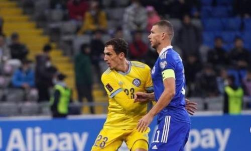 Фоторепортаж с матча отбора ЧМ-2022 Казахстан — Босния и Герцеговина 0:2