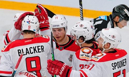 Ассист хоккеиста сборной Казахстана принес клубу КХЛ победу в матче. Видео