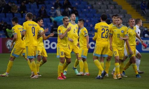Каково положение сборной Казахстана в группе отбора на ЧМ-2022 после поражения Боснии и Герцеговине