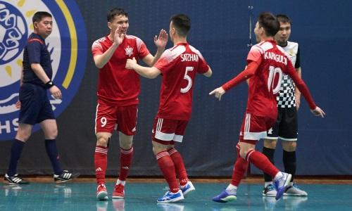 «Актобе» стартовал с победы в Кубке Казахстана