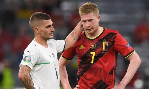 Прямая трансляция матча Италия — Бельгия за «бронзу» Лиги наций