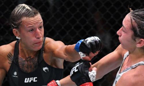 Видео полного боя казахстанки Марии Агаповой с «Королевой» в UFC