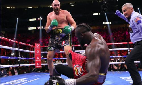 Видео полного третьего боя Фьюри — Уайлдер за титул WBC с четырьмя нокдаунами и нокаутом