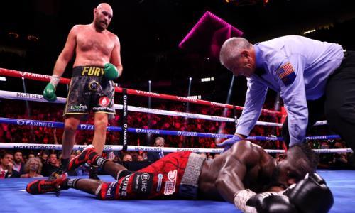 Уайлдера доставили в больницу после поражения нокаутом в третьем бою с Фьюри