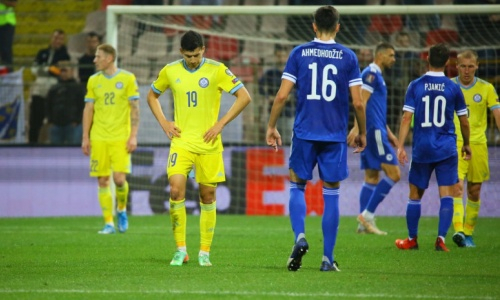 Национальная сборная Казахстана не побеждает 11 матчей кряду