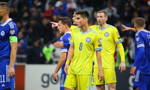 «В этот вечер сбился прицел». В Украине оценили поражение сборной Казахстана