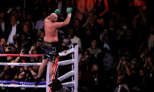 Фьюри после победы над Уайлдером прокомментировал возможность боя с Усиком
