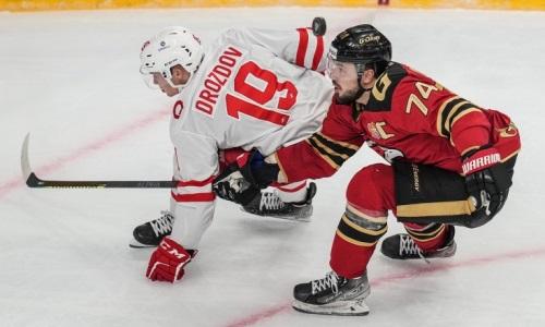 «Авангард» одержал крупную победу после поражения от «Барыса» в КХЛ. Видео