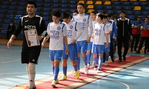 Новый клуб чемпионата Казахстана уверенно обыграл «Аят»