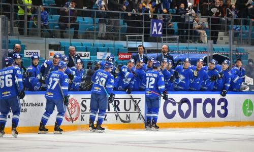 «Барыс» объявил состав на домашний матч КХЛ против «Ак Барса»