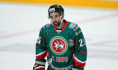40-летний ветеран КХЛ выйдет во втором звене «Ак Барса» на матч с «Барысом»