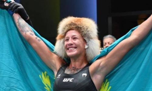 Мария Агапова удивилась своей досрочной победе в UFC