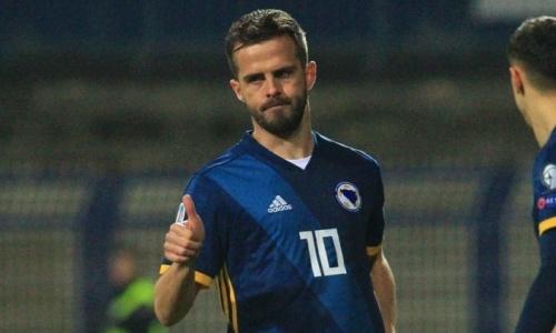 Миралем Пьянич одним словом оценил победу Боснии и Герцеговины над Казахстаном