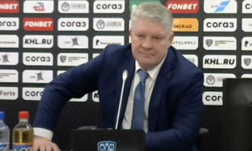 Юрий Михайлис выступил с критикой после поражения «Барыса» со счетом 3:6