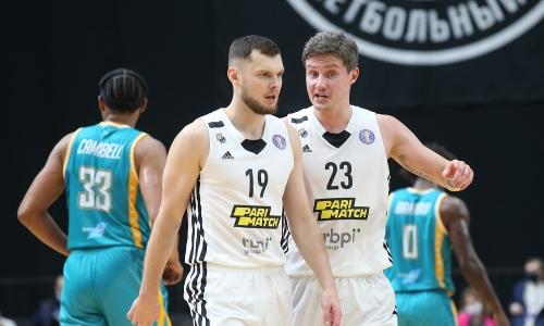 «Астана» проиграла «Нижнему Новгороду» в матче ВТБ