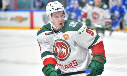 «Барыс» помог российскому нападающему набрать 400 очков в КХЛ