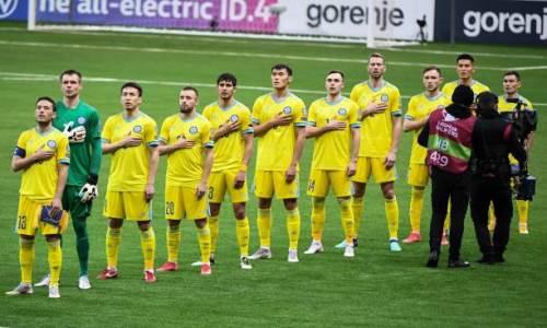 Сборная Казахстана не выигрывает в 13 матчах подряд