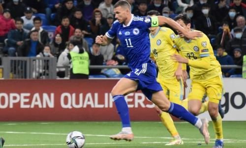 Сборная Казахстана осчастливила звезду европейского футбола. Видео