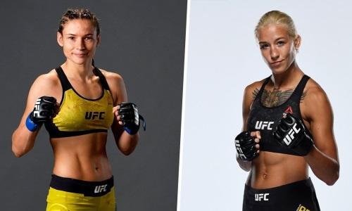 Украинская файтерша из UFC ответила на дерзкий вызов Марии Агаповой