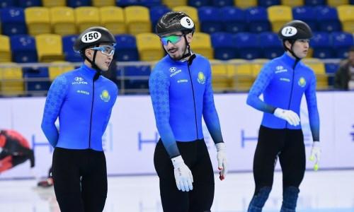 Сборная Казахстана по шорт-треку огласила состав на предстоящий сезон
