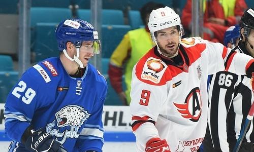 Хоккеист сборной Казахстана впервые в карьере признан лучшим защитником недели в КХЛ