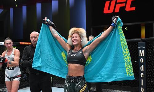 Мария Агапова вошла в ТОП-5 по заработку на турнире UFC
